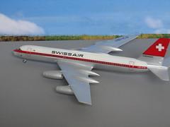 Convair 990 Coronado, Swissair, F-Rsin, 1/144 (lutz1957) Tags: coronado swissair 1144 convair990 frsin fresin