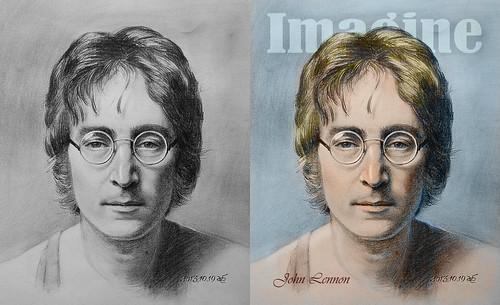 John Lennon by yeweeeee, on Flickr