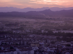 Sunrise Puerto Vallarta (Graham Milligan) Tags: mountains sunrise mexico jalisco sierra puertovallarta graham madre milligan
