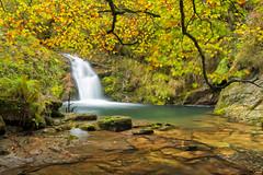 Ro Infierno (tailfox32) Tags: rio ro la asturias otoo cascada infierno infiesto pesanca