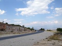 Descente vers Blagoevgrad, Bulgarie