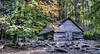 Ogle Barn (Wes Iversen) Tags: trees nature tennessee barns gatlinburg hdr autumncolor greatsmokymountainsnationalpark hcs homesteadfarms nikkor18300mm clichésaturday