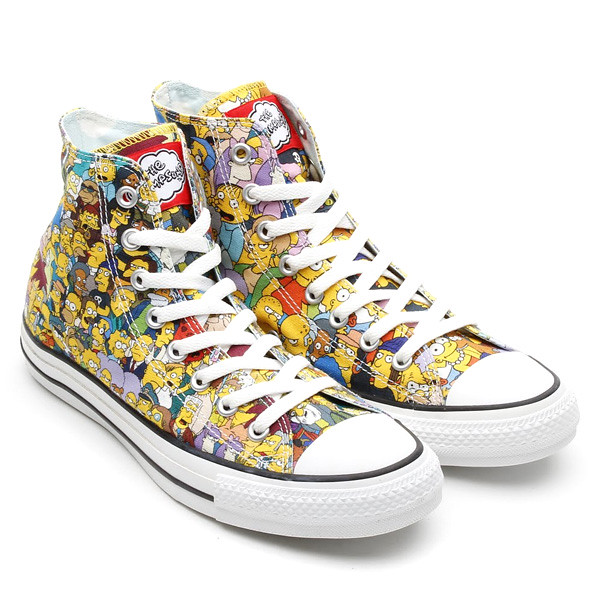 The Simpsons X Converse ALL STAR 聯名鞋款