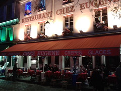 "Paris balad bynight: Montmartre ""chez Eugne"" (valkiribocou) Tags: paris balade baladeparisienne serrisbalad randobalade"