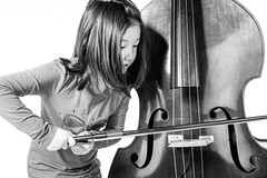 I always wanted to be Ron Carter (Photo by Thomas) Tags: music white girl female standing asian hongkong kid child bright bass chinese jazz clean single bow bassist arco blackhair doublebass standup bowing uprightbass modelrelease modelreleased flickrhongkong 410years shouldlength flickrhkma