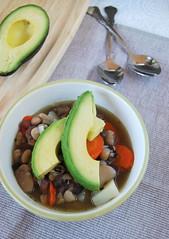 bean soup#2 (m_a_r_s_o) Tags: food soup cookbook avocado