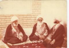 Sheikh's cousins, Grand Ayatollah Sheikh Ali Alansari and Grand Ayatollah Sheikh Mohammad Jawad Alansari