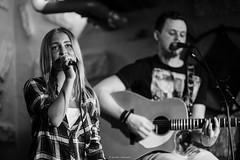 Singer (JakeeSS) Tags: bw girl beauty finland amazing nikon dof bokeh song f14 85mm sing singer finnish quitar finnisg d700 quitarist