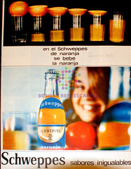 "Schweppes. ""Sabores inigualables"""