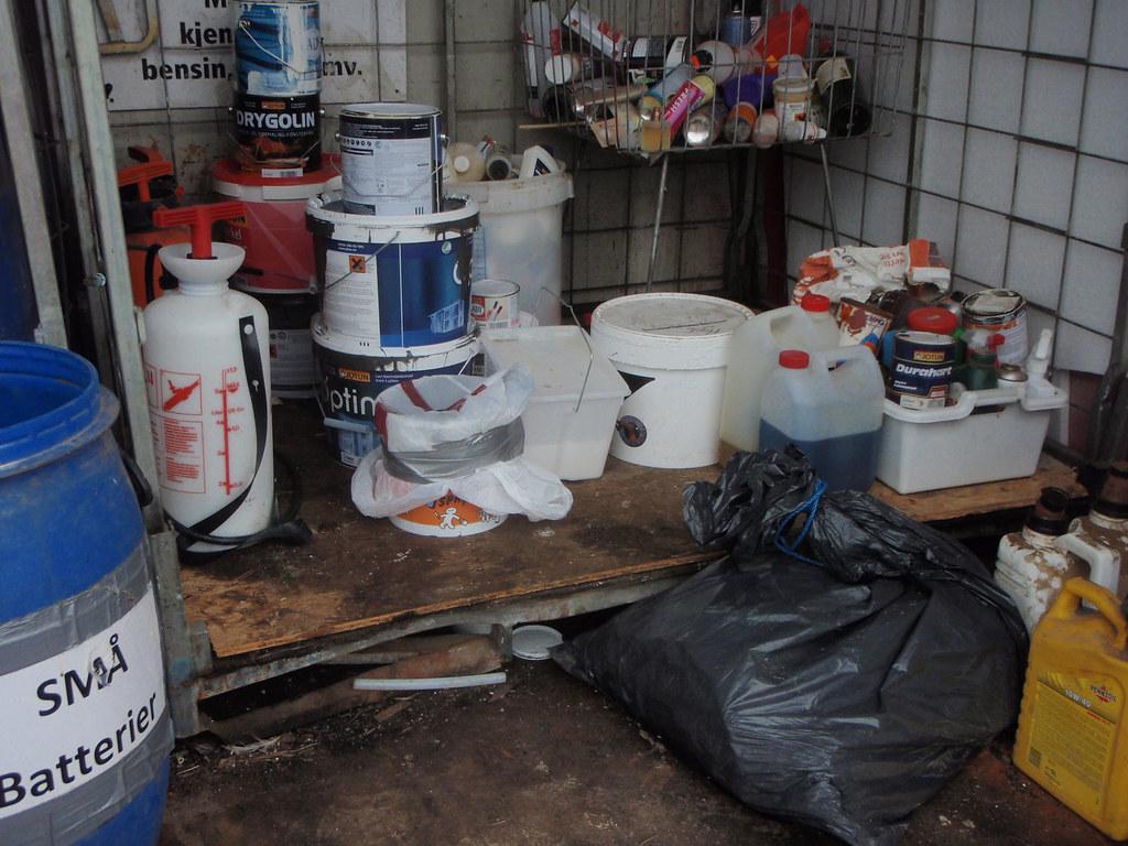 Mottaksanlegg for farlig avfall