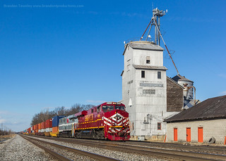 Norfolk Southern 26N in Duvall, Ohio