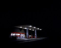 Texaco, Hartley Wintney (Dan Parratt) Tags: mamiya film night mediumformat photography kodak garage gas gasstation uca iso 400 resolution petrol texaco ruscha fuel farnham consumption petrolstation forecourt rz67 edruscha mamiyarz67 finalmajorproject twentysixgasolinestations universityforthecreativearts 26gasstations 26gasolinestations twentysixgasstations