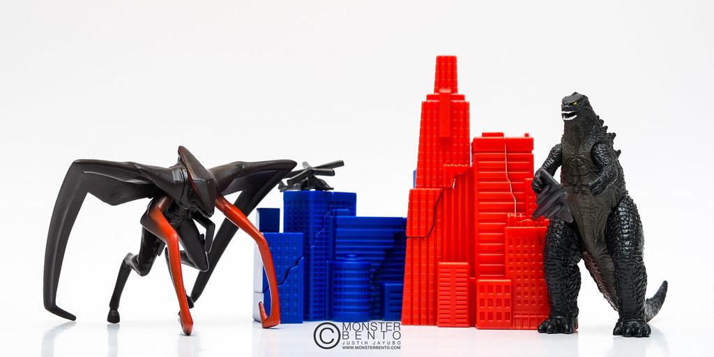 Godzilla 2014 Winged Muto Toy 41383 Usbdata
