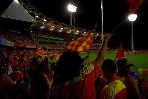 Gold Coast Suns army.