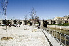 Madrid (Spain), Toledo Bridge - Madrid (Espaa), Puente de Toledo (ipomar47) Tags: madrid park bridge parque rio river puente pentax toledo k5 barroque manzanares barroco overdecorated churrigueresco churrigueresque