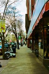 Segway (donniedarko0182) Tags: segway mobile police street streetphotography film filmphotography canon rebelk2 kodak portra400 sidewalk