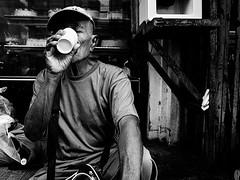 Uhaw (Meljoe San Diego) Tags: meljoesandiego ricoh ricohgr streetphotography street people candid monochrome blackwhite thirst