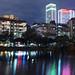 松山文創園區 ∣ Songshan cultural park・Taipei (Iyhon Chiu) Tags: 松山文創園區 松山菸廠 台北 taipei taiwan songshan 台灣 night pond 夜景