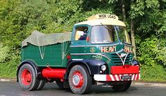 Foden S21 Heavy Haulage IMG_8474jpg (Frank Hilton.) Tags: classic truck lorry eight wheel maudsley aec atkinson albion leyalnd bristol austin outside heavy haulage crane 8 axle