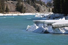 Last day of winter (davebloggs007) Tags: bow river morley alberta canada ice