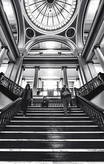 A Visit to the Oneida County Courthouse (Benjamin Tatrow) Tags: wisconsin rhinelander northwoods north courthouse court historical history blackwhite bentphotography