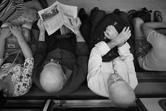 (Claudio Blanc) Tags: streetphotography fotografiacallejera bw bn blancoynegro blackandwhite buenosaires street subway subte metro underground argentina