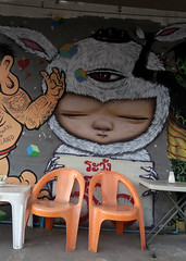 streetart and graffiti in chiang mai (wojofoto) Tags: streetart graffiti thailand chiangmai wojofoto wolfgangjosten alexface 2017