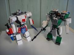 Toldi - Heavy Hardsuit (Śląski Hutas) Tags: lego moc hardsuit mech futuristic scifi bricks guns lasers