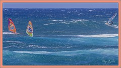 Wind and Waves (Sugardxn) Tags: wave wind windsurf pacific ocean blue paia sugardxn garypentin hawaii maui canon canon7d canoneos7d