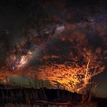 Milky Way through the Clouds - Harvey, Western Australia thumbnail