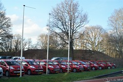 Would you like a red Peugeot 107? (NielsdeWit) Tags: nielsdewit veenendaal peugeot 107 pgx