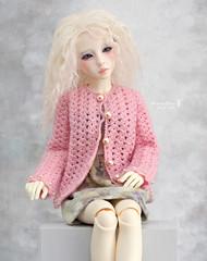 Tiffany ♥ (Maram Banu) Tags: doll bjd msd narae cardigan fairystyle marambanu n402