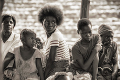 Girls of Vulamkoko - explored (johannekekroesbergen) Tags: africa poverty rural poor child vulamkoko children girls
