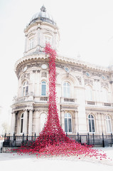 Weeping Window (SydPix) Tags: hull cityofculture weepingwindow installation exhibition display poppies queenvictoriasquare maritimemuseum city 2017 sydyoung
