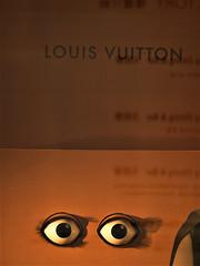 Reflection Louis Vuitton's Eyes (sandytw220) Tags: fashion louisvuitton yellow reflection eyes stree outdoor casio