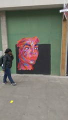 ticket (stevefge) Tags: street art people candid women girls uk london reflectyourworld yellow