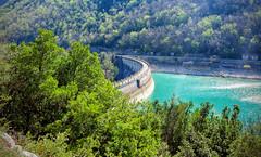 DSCF2389 (Pietro Capretti) Tags: fiastra lagodifiastra marche diga dam digadifiastra lago lake