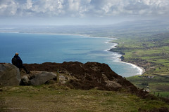 Looking back (leecaine) Tags: wales uk llyn peninsula snowdonia mountains coast sea morning anglesey green blue view landscape