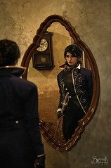 Clair de Lune as Emily Kaldwin from Dishonored 2 (indoors) - by SpirosK photography (SpirosK photography) Tags: clairdelune clairdelunecosplay cosplay costumeplay game videogamecharacter videogame dishonored2 emily emilykaldwin spiroskphotography portrait cosplayphotoshoot istanbul turkey κωνσταντινούπολη τουρκία indoors bar andreakarakoy