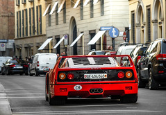 Third F40 in 3 months...not bad. (David Clemente Photography) Tags: ferrari ferrarif40 f40 v8 v8biturbo cars supercars carspotting nikonphotography automotivephotography photography gregb23 carspottingmilan