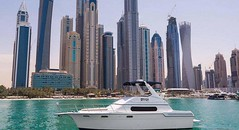 Forget Uber, this Dubai service picks you up in a yacht (dxbplanet) Tags: dubai forget picks service yacht
