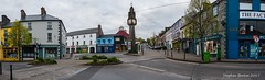 Crossroads at the Clock Tower. Westport, Co. Mayo (Steph Breton) Tags: westport comayo ireland irlande clock tower highstreet bridgestreet crossroads