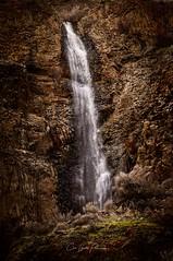 Grant County Waterfall (Chris Lakoduk) Tags: waterfall grandcounty washingtonstate water rocks basalt cliffs rough landscape view sights