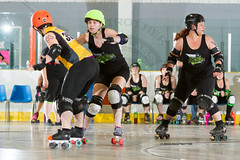2016-06-05 Whitewood Block Party Game 6_015 (Mike Trottier) Tags: blockparty canada derby killabees miketrottier miketrottierrollerderbyphotography rollerderby srdl saskatchewan saskatoon saskatoonrollerderbyleague straightjackets srdlsaskatoonrollerderbyleague whitewood can