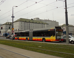 Solaris Urbino 18 Hybrid, #3896, MZA Warszawa (transport131) Tags: bus autobus mza warszawa ztm warsaw solaris urbino hybrid