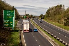 2017 - 04 - 03 - EOS 600D - A55 Expressway - North Wales - 003 (s wainwright) Tags: 2017 april theoldwarren buckley flintshire a55 canon600d eos600d