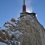 L'Aiguille du Midi, Chamonix-Mont Blanc, Haute-Savoie, Rhône-Alpes, France. thumbnail