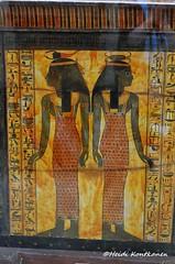 Selket and Neith (konde) Tags: tt1 deirelmedina sennedjem khonsu ancient 19thdynasty newkingdom coffin sarcophagus deities selket neith goddess treasure hieroglyphs