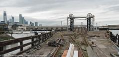 Pier 52 Southern Pacific Car Loader 3-2017 (daver6sf@yahoo.com) Tags: portofsanfrancisco pier52 p52 railbargeconnector sanfranciscobay salesforcetower