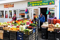Russian market place (Timmie10) Tags: russia salsk market place fruit vegetables